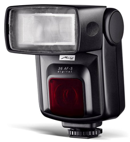 Metz MZ 36352OPL 36 AF-5 4/3rds TTL Flash Mode for Digital Olympus/Pana/Leica  Cameras