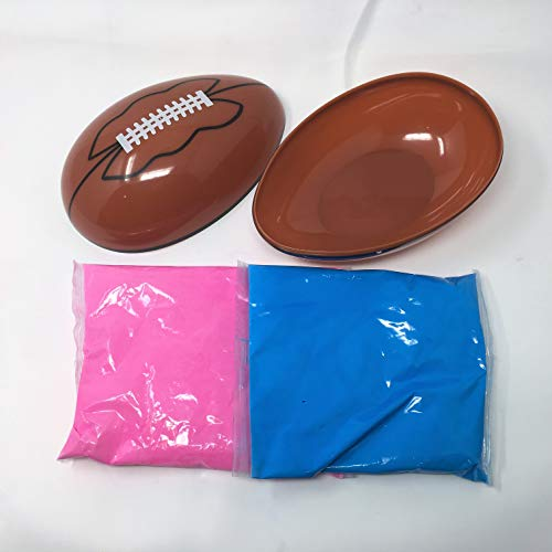 Gender Reveal Football - Pink and Blue Kit]()