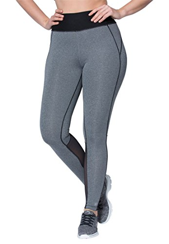 womens-plus-size-mesh-panel-leggings-grey-melange-black22-24