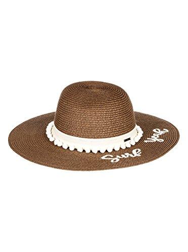 Roxy Womens Pio La La - Straw Sun Hat - Women - M - White Marshmallow (Ml Straw Hat)