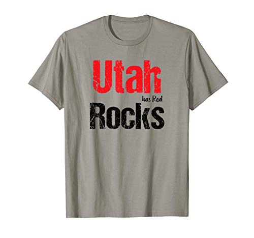 Fun Utah has Rocks T-Shirt. National Parks Family Shirt. T-Shirt