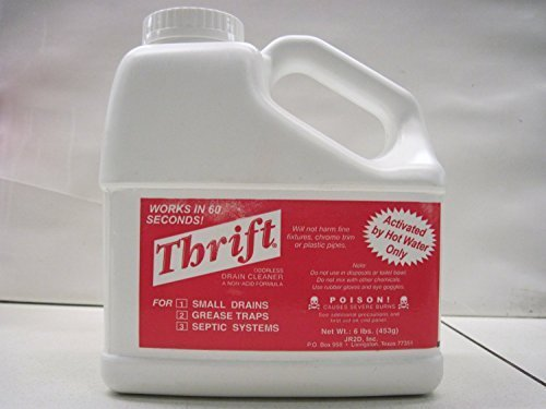 thrift drain cleaner - 5