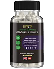 Zestypro Colonic Therapy Colon Cleanse and Probiotic / Relieve Indigestion, Flatulence And Bloating / Vegetarian and Vegan Safe / Manufactured in the UK - Money Back Guarantee