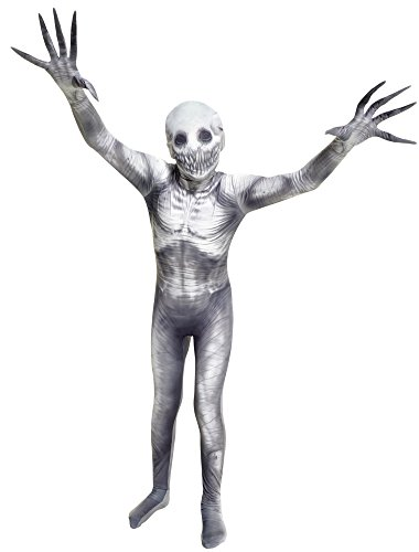 Halloween Costumes For 4 Friends (The Rake Kids Morphsuit Urban Legend Costume  - Large 4'-4'6 / 10-12 Years)