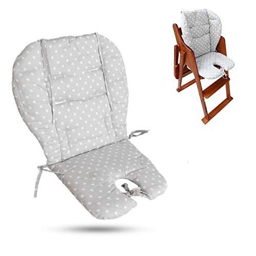Gekai Coussin de chaise haute b/éb/é,bebe poussette coussin,b/éb/é Coussin dassise//coussin de chaise haute belle /étoile Motif Coussin souple double face Coussin Coussin respirant