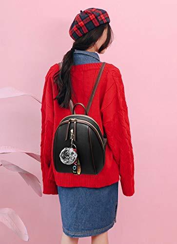 Sacs Rouge De portés Jujube Faux Sacs dos portés Cuir main Sacs Noir bandoulière Femme g8nvPx7wq5