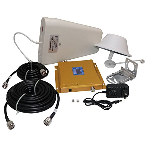 Asunflower Cell Phone Signal Booster Dual band 900/1800MHz GSM/3G DCS LTE Mobile Repeater Amplifier Kit Dual Band Cellular Amplifier