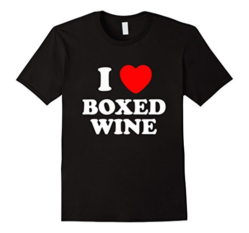 Merlot Cab - Men's I Love Boxed Wine, Love Vino, Cheap Wine Lover T-Shirt 3XL Black