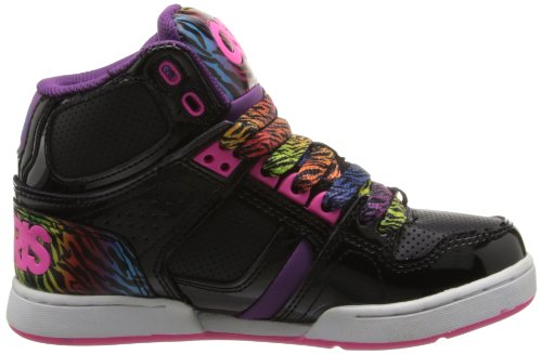 Osiris , Mädchen Sneaker Black/Purple/Rainbow