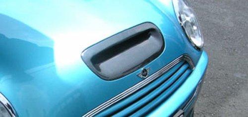 Genuine carbon fiber hood scoop for GEN 3 MINI Cooper (Mini Cooper S Carbon Fiber)