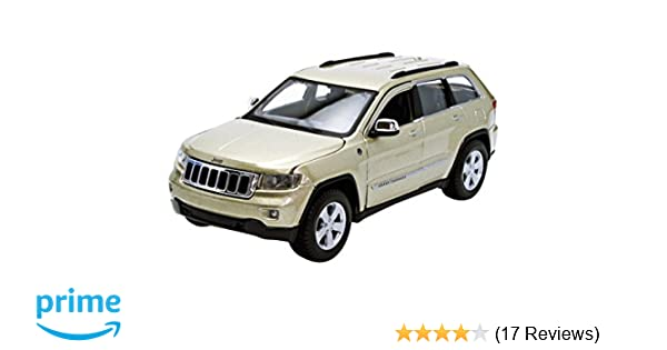 Amazon.com: Maisto Jeep Grand Cherokee Laredo SUV 1/24 Scale Diecast Model  Car White: Toys U0026 Games