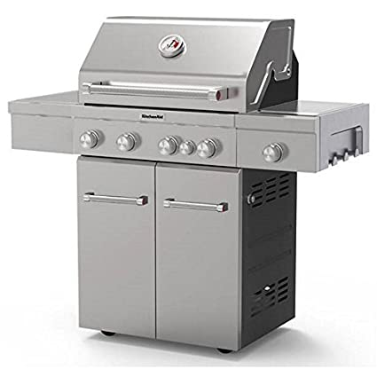 Amazon.com: Nexgrill 720-0954 4-Burner Propane Gas Grill in ...