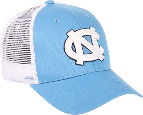 ZHATS University of North Carolina UNC Tar Heels Blue Big Rig Adult Mens/Womens/Youth Baseball Hat/Cap Size - North Cap Heels Tar Carolina