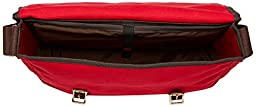 Duluth Pack 15-Inch Laptop Book Bag, Red, 11 x 16 x 4-Inch