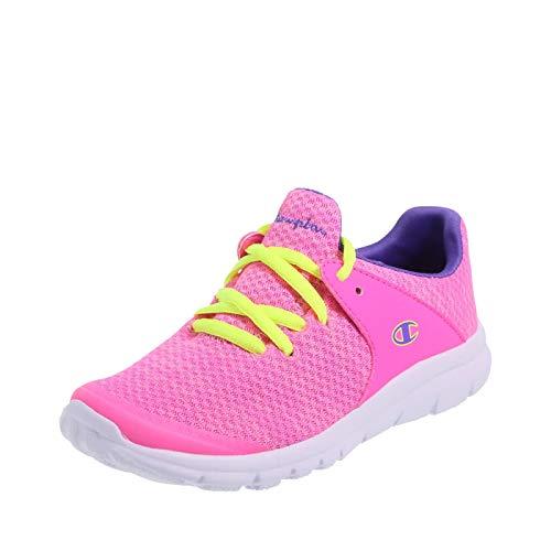Champion Pink Purple Girls' Sockfit Gusto Runner 13 Regular