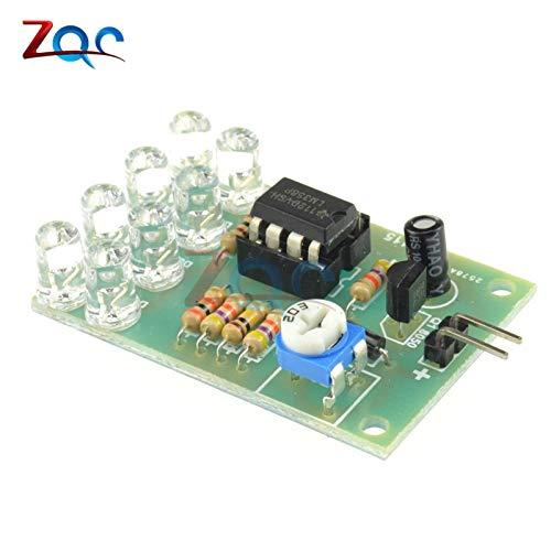 12V Breathe Light LED Flashing Lamp Parts Electronic DIY Module LM358 Chip