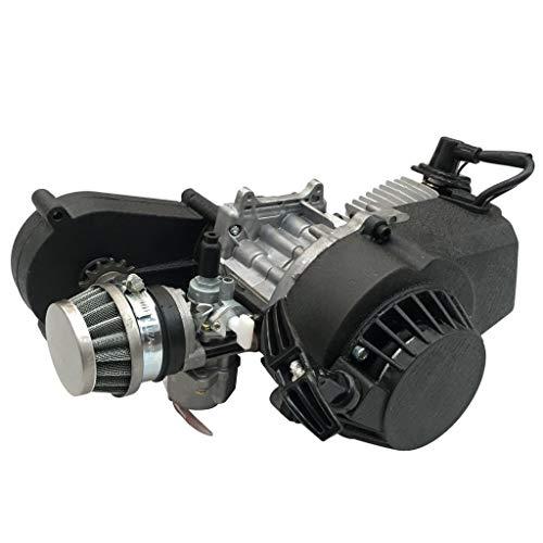 Motrocycle Engine 49cc 2-Stroke Pull Start Full Automatic for SSR Pocket Mini Dirt Bike ATV