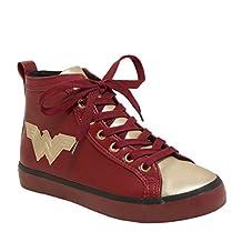 DC Comics Women's Ladies Wonder High Top Sneaker
