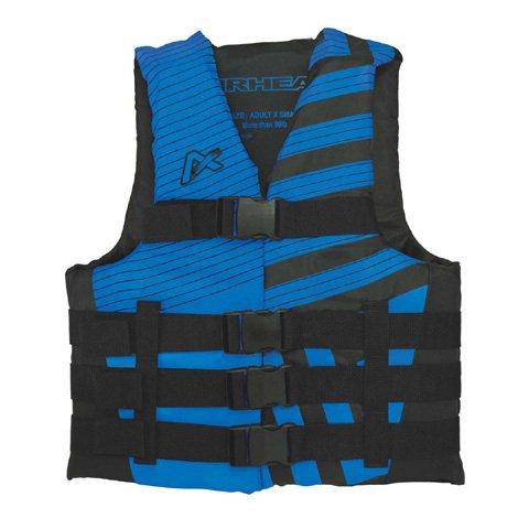 Airhead Trend Mens Closed Side Life Vest-2XL/3XL-Blue/Blk SK