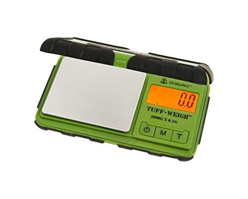 En Equilibrio tuf-1000tuff-weigh 1000gram X 0,1Balanza de bolsillo naranja