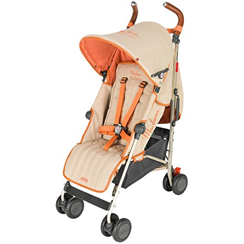 Reversible Single Stroller Liner - Maclaren Quest Linen