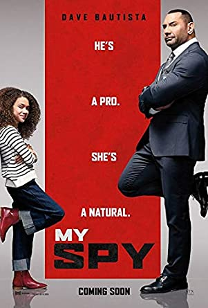My Spy - Authentic Original 27x39 Rolled Movie Poster at Amazon's ...