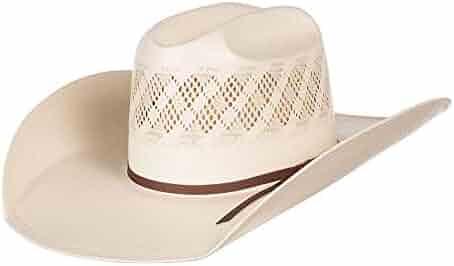 d41766f4b40f1 NRS American Hat Company Mens Wide Vent Ivory Tan 4 1 4 Brim Open Crown