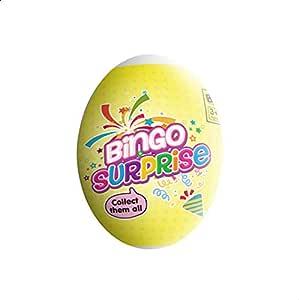 صلصال بيضة المفاجأت من بينجو - متعدد الالوان