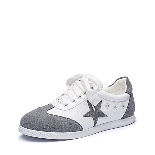 Color matching fondo plano correa/Cabeza redonda/Recreación /Mujeres de confort zapatos zapatillas B