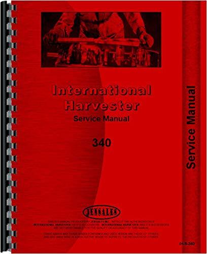 International Harvester 340 Tractor Service Manual (Utility) ()