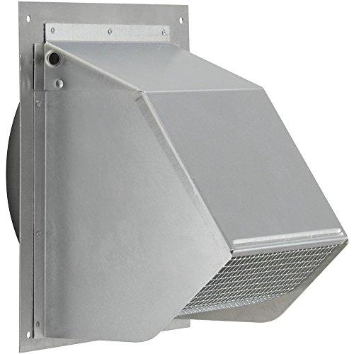 - Broan-Nutone 641FA Aluminum Fresh Air Inlet Wall Cap for 6