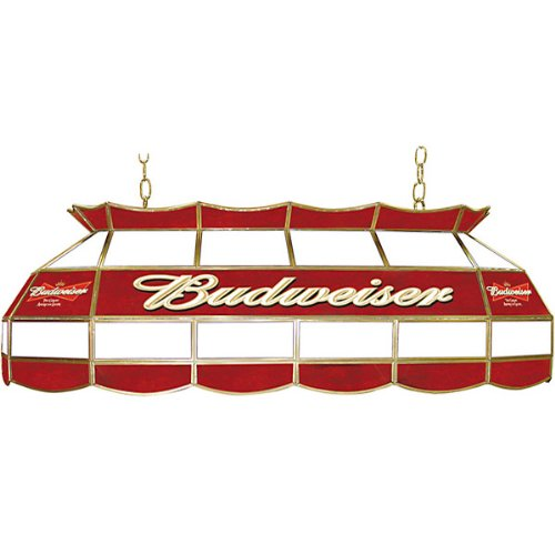 Budweiser Tiffany Gameroom Lamp, 28'' by Trademark Gameroom