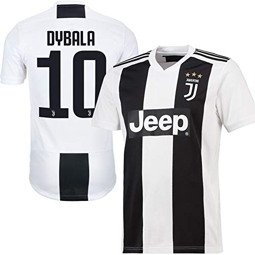 size 40 d0975 2b7bc Dybala Juventus Home Youth Soccer Jersey & Shorts & Kit Bag ...