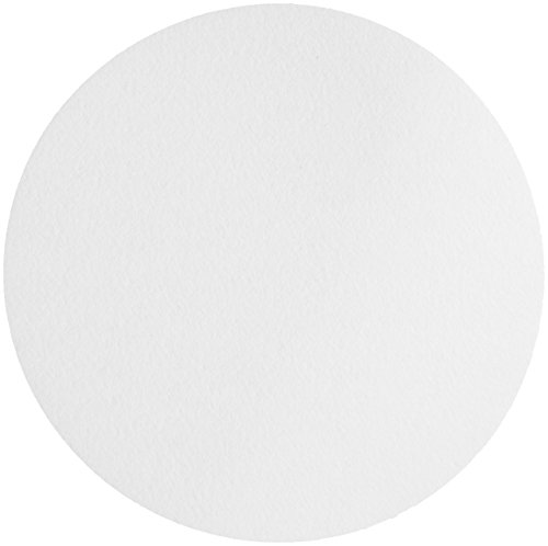 Whatman 1001-150 Qualitative Filter Paper Circles, 11 Micron, 10.5 s/100mL/sq inch Flow Rate, Grade 1, 150mm Diameter (Pack of 100)