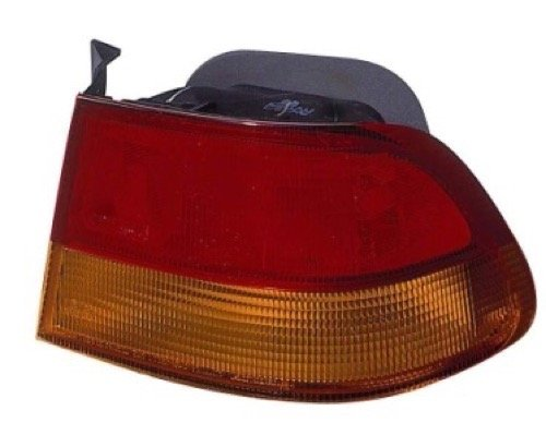 le 1996-1998 Honda Civic Rear Tail Light Assembly/Lens/Cover - Right (Passenger) Side - (2 Door; Coupe) 33500-S02-A01 HO2801144 Replacement For Honda Civic (Rear Quarter Panel Standard Coupe)