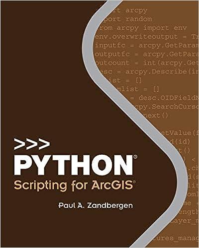 Python Scripting for ArcGIS 2, Paul A  Zandbergen, eBook - Amazon com