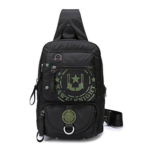 Cross Shoulder Organizer (Lanspace Sling Bag Cross Shoulder Backpack for Laptop iPad Up to 12.1-Inch)