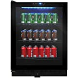 Vinotemp VT-54 Touch Screen Beverage Cooler, Black