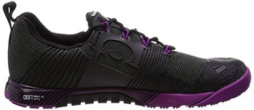 Noir Noir Nano Reebok Femme Eu Pour violet Violet R Crossfit Pum Baskets 481q4Rpw