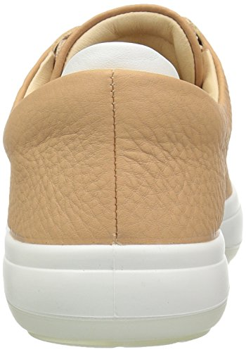 Sneakers Ecco White Kinhin Beige Basses Volluto Femme 5r7rR