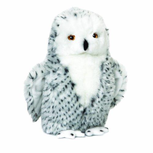 Nat and Jules Plush Toy, Snowy Owl Large (Large Animal Stuffed Owl)