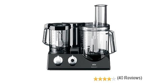 Braun K 700 Vital Multiquick 5 - Procesador de alimentos (600 W, 2 litros), color negro: Amazon.es