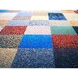 Dean Commercial Carpet Tile - Random Assorted Colors - 40 Square Feet