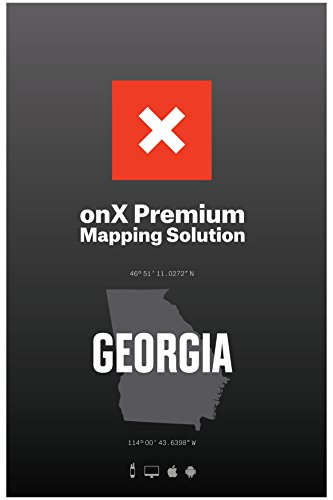 Georgia Mobile - onX HUNT Georgia: Digital Hunting Map For Garmin GPS + Premium Membership For Smartphone and Computer - Color Coded Land Ownership - 24k Topo - Hunting Specific Data