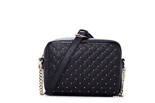 side bags for women black - 2