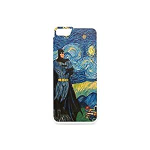 "Funny Iphone 6 case - Calling on Batman Starry Night Iphone 6 4.7""Case plastic and TPU White and Black by ruishername"