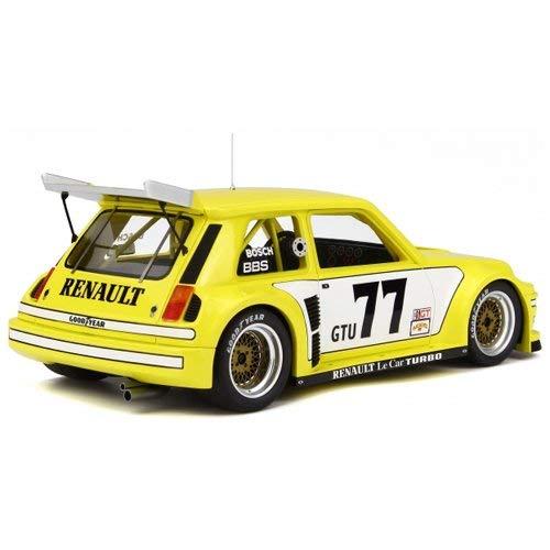 Otto Mobile - Renault - Le Car Turbo IMSA - 1981 Coche de ferrocarril de Collection, ot261, Amarillo/Blanco: Amazon.es: Juguetes y juegos