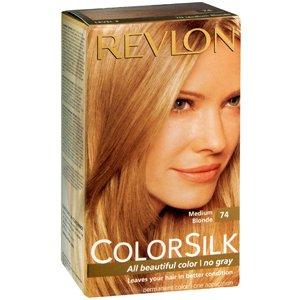 Amazon.com : REVLON COLORSILK PERMANENT COLOR~7N MEDIUM BLONDE ...