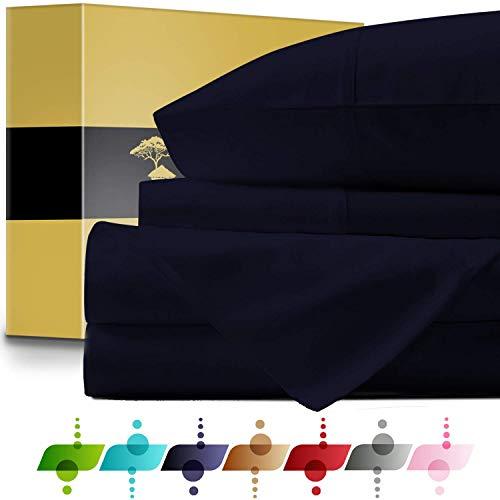 URBANHUT Egyptian Cotton Sheets Set - 1000 Thread Count 100%...