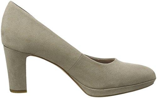 Toe Tamaris Women''s Brown Heels braun Closed 22420 qg6xrZgnt